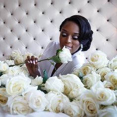When the groom sends over a bunch of roses....143 to be precise. @dr_tone well done bro. Finally culling images from #toshé2015 #toshe2015 @sw33tlypss looked amazing. Hair by @itsmisswu #waleariztosphotography #weddingphotographer #philadelphiaweddingphotographer #BRIDE #bridalportraits