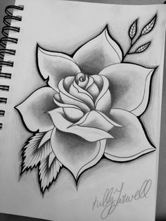 Flower tattoo designs · pencil art · pencil drawings · la rosa más hermosa flower sketches, drawing sketches, drawing tips, easy drawings, Cool Art Drawings, Pencil Art Drawings, Art Drawings Sketches, Easy Drawings, Tattoo Drawings, Art Sketches, Tattoo Sketches, Cool Drawings For Beginners, Pencil Drawings Of Flowers
