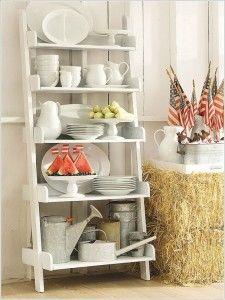 Meer dan 1000 ideeën over Decoratieve Ladders op Pinterest - Ladders ...
