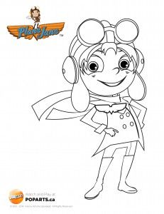 #PlaneJane #coloring page coming your way! #printable #crafts #kids