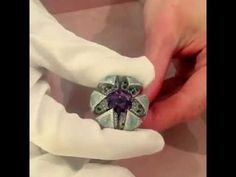 G London Reveal Ring. Discovering Jewellery With Katerina Perez ❤ ℒℴvℯly Aqua Marine, All That Glitters, Beautiful Lingerie, Shades Of Purple, Clear Quartz, Harrods, Amethyst, Jewels, London