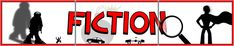 A 3-page printable fiction title display banner in color-coded red and black. This banner displays silhouetted pictures related to fiction and narrative. Great for discussions and getting children to create context. Visit our TpT store for more information and for other classroom display resources by clicking on the provided links.