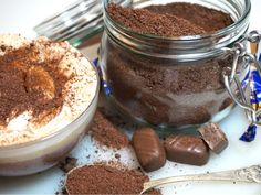 Himmelskt chokladpulver till varm choklad - Victorias provkök Baking Recipes, Dessert Recipes, Desserts, Homemade Sweets, Dessert For Dinner, Breakfast Time, Christmas Baking, Food Hacks, Mousse