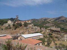 Minas de Montevecchio.  Comuna de Arbus. * Ilha da Sardenha * Itália.