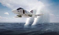 peerintothepast:  F-4 Phantom #aircraft