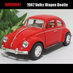 1/32VW-ビートル/1967(レッド)/KINSMART Products, Gadget