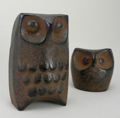 "⇢|| http://ashesandmilk.com/fukurou/ ⇢||""Fukurou"" - cast iron owl ⇢||Motley"