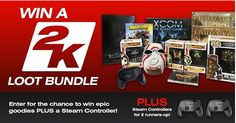 Bundle Stars - Win a 2K Games Loot Bundle - http://sweepstakesden.com/bundle-stars-win-a-2k-games-loot-bundle/