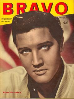 Bravo Magazine September 9, 1962  Elvis Presley