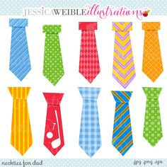 on sale father s day clipart mustache clipart preppy mens ties