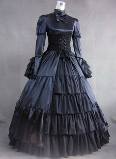 simple victorian dresses - Google Search
