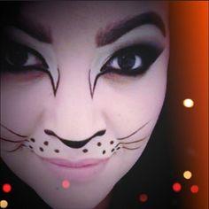 Kitten by rosalinarosales4. #Sephora #Sephoraween #Halloween