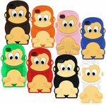 Cute Monkey Silicone Iphone 4S 4 Soft Protective Carrying Skin Cover Case(Click to see our Color options)