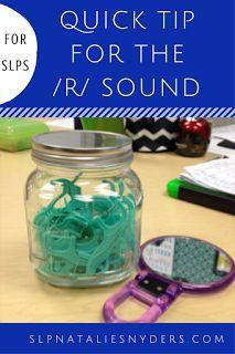 Quick Tip for the Dreaded /r/! | SLP | Pinterest