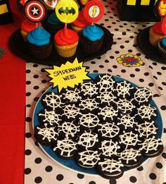 My son turned 3 last weekend! He asked for a superhero party this year and as a closet superhero fan I was more than a little excited :) Here is a peek at our little party (before my kids turn 5 we…