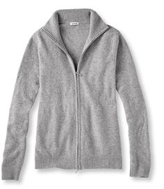 <p>We traveled the globe to find the world's finest cashmere– you can find it here. Crafted from the finest Inner Mongolian cashmere, our plush, two-ply sweater is now even denser. It holds in warmth and feels luxuriously soft. You'll notice the difference from the moment you put one on and see why having one is a luxury worth indulging. Dress it up or dress it down– its timeless styling makes it easy to pair with just about anything. Narrow ribbed trim. Two-way zipper. ...