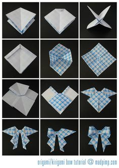 Same origami-gift-bow-tutorial. Lt's see which instructions are easier to follow.
