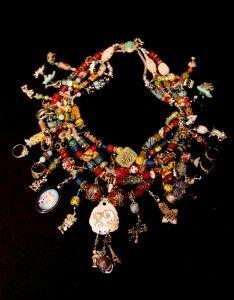 Overview of a lifetime: Pat M Treasure Necklace Aug 12