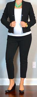 Preggo outfits for work!