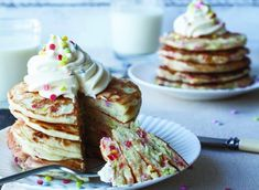 Celebrate Pancake Tuesday with these unreal Confetti Pancakes!