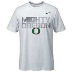 f7f9a4f2e820 White Nike Mighty Oregon T-Shirt University Of Oregon
