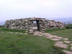 Stoneworks at the Dunbeg Fort near Dingle