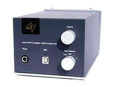 High End Amplifiers and Preamplifiers 47 LABS  MIDNIGHT BLUE 4733  $2000