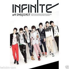 INFINITE - Inspirit (1st Single Album) CD + Photo Booklet  + GIFT