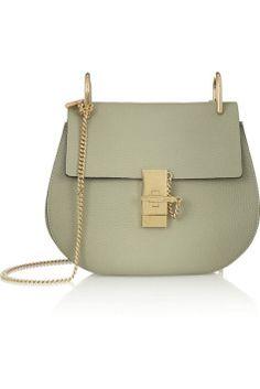 Chloe Drew bag light green