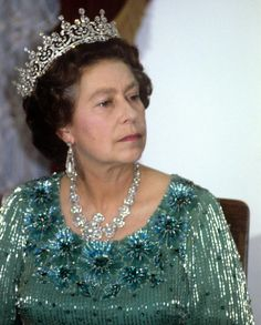 Queen Elizabeth II, Kenya, I wonder what she thinks when she wears her tiaras and diamonds? Does she think of them as mundane, or does she appreciate and treasure them? Hm The Queen, Royal Queen, Her Majesty The Queen, Save The Queen, Queen B, Commonwealth, Elizabeth Queen Of England, Queen Elizabeth Ii, Royal Crowns