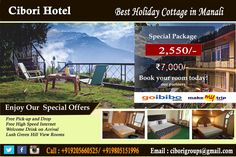 Grab  the best hotel deal in Manali