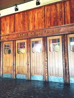 Grand Ole Opry I will go here one day!