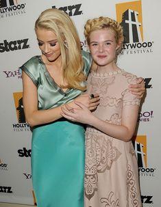 Elle Fanning, Amber Heard