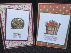 Stampin mit Scraproomboom - Stampin' Up! - Basket of Wishes