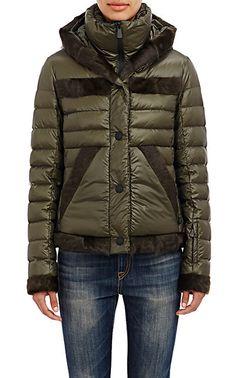 moncler fur trimmed down jacket downpuffer httpwww