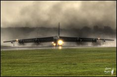 "B-52 Stratofortress                                             As my husband would say, ""Kick the tires and light the fires"".  012 ready for take-off."