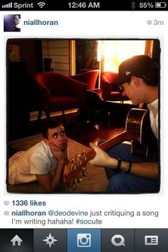 NIALL IS WRITING ANOTHER SONG!!  NOT OKAY