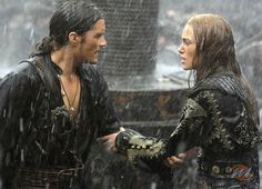 Will Turner and Elizabeth Swan - Pirates of the Caribbean lll