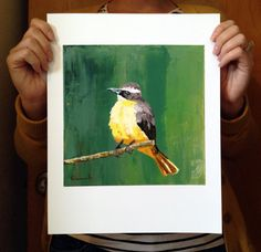 Chirping Charlie - Archival Pigment Print by Studio 513 $30.00