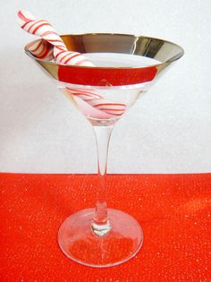 Candy Cane Martini S
