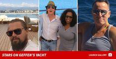 0420-stars-on-david-geffen-yacht-photo David Geffen, Wayfarer, Ray Bans, Mens Sunglasses, Stars, Travel, Fashion, Moda, Viajes