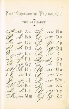 Knick of Time: Alphabet Primer Page Sign