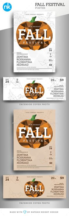 Fall Festival Poster / Flyer - Events Flyers