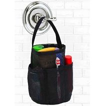 Saltwater Canvas Shower Bag Black - The Original Waterproof Shower Bag