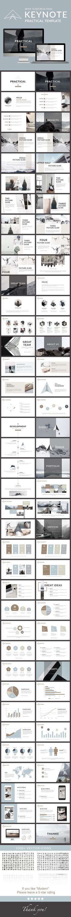 Practical - Clean trend Keynote Template. Download here: http://graphicriver.net/item/practical-clean-trend-keynote-template/16763325?ref=ksioks