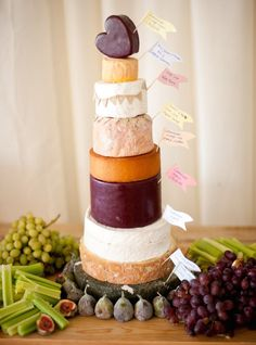 Trend Alert! Cheese Tower Wedding Cakes