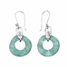 Ancient Roman Glass Earrings Doughnut Shape Sterling Silver Roman Glass Company. $55.99. Certificate of authenticity and care card included. Handcrafted in Israel with 2000-year-old glass. .925 sterling silver. Gift boxed