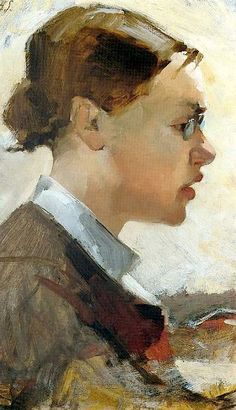 Self Portrait by Helene Schjerfbeck on Curiator, the world's biggest collaborative art collection. Helene Schjerfbeck, Figure Painting, Painting & Drawing, Digital Museum, Oil Portrait, Portrait Paintings, Collaborative Art, Scandinavian Art, Paintings I Love