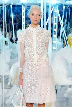 Louis Vuitton Spring/Summer 2012 RTW at Paris Fashion Week.