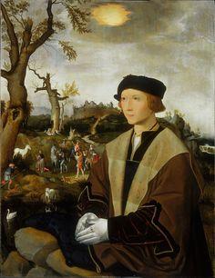 Jan Mostaert - Portrait of a Young Man - Google Art Project - Jan Mostaert — Wikipédia